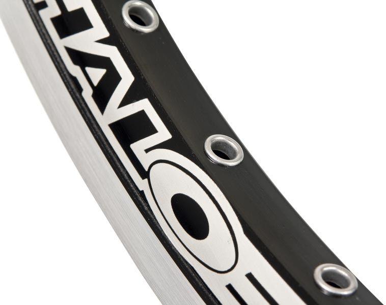 "Cercle 20"" Halo Ex-3 36 rayons noir CNC"