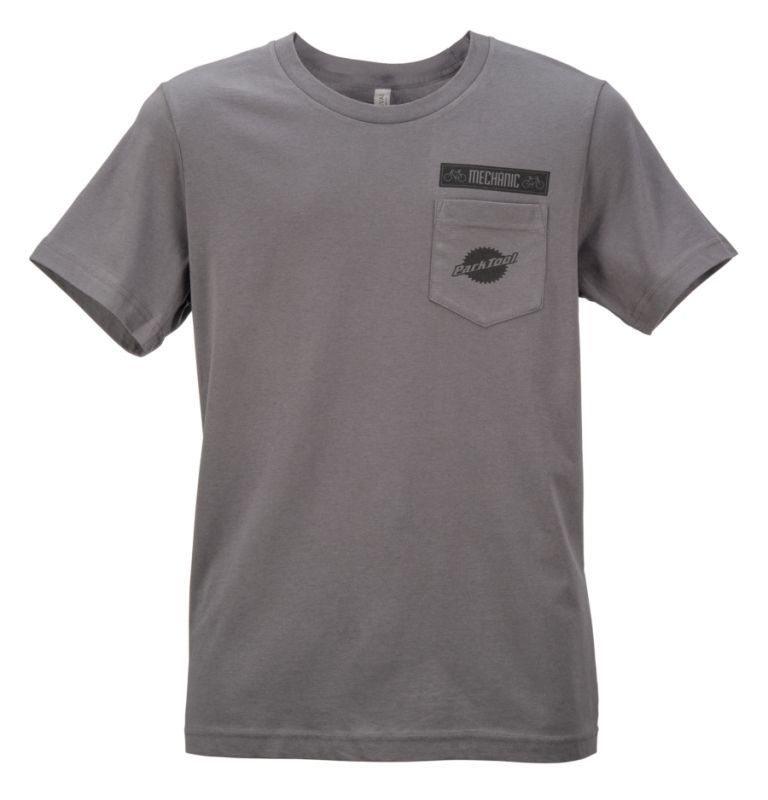 T-Shirt Park Tool Gris Charcoal - TSH-4