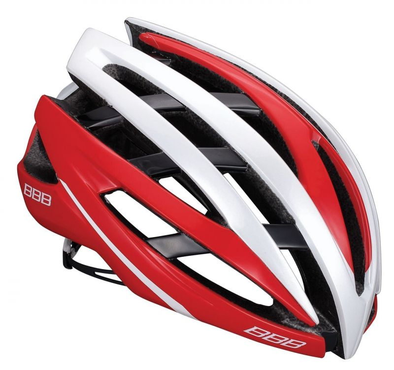 Casque BBB Icarus (Blanc/Rouge) - BHE-05