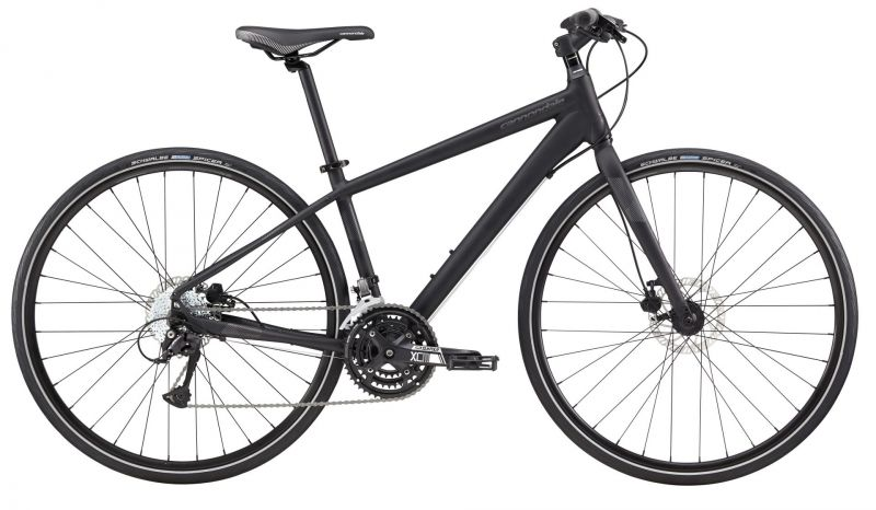 v lo fitness cannondale quick disc 5 femme 2017 noir sur ultime bike. Black Bedroom Furniture Sets. Home Design Ideas