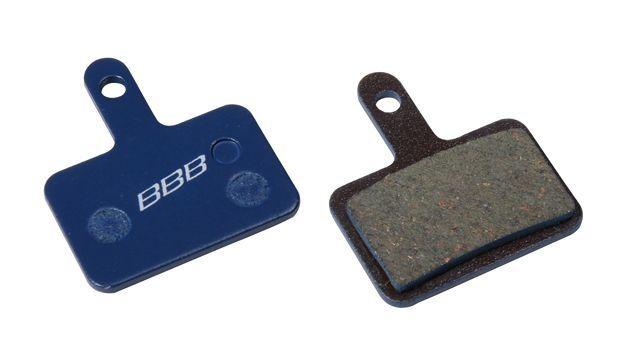 Plaquettes BBB comp. Shimano Deore méc. M515/M465/M475/M495/Nexave C501/C601/RST D-power organiques