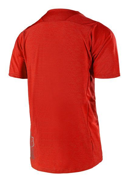 Maillot Troy Lee Designs Skyline Solid Heather Rouge - 1