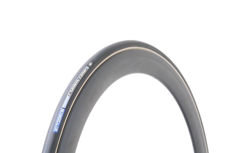 Boyau Hutchinson Carbon Comp 700 x 22C (valve démontable) TS noir - 1