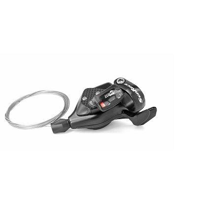 Manette Trigger SunRace M90 9 vitesses Droite Noir