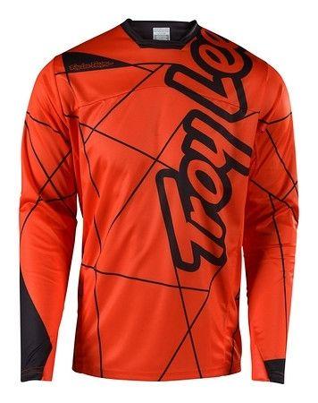 Maillot Troy Lee Designs Sprint Metric Orange/Noir
