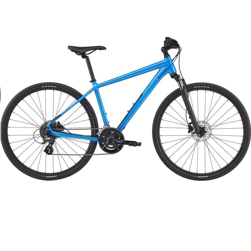 VTC Cannondale Quick CX 3 Bleu Electric 2020