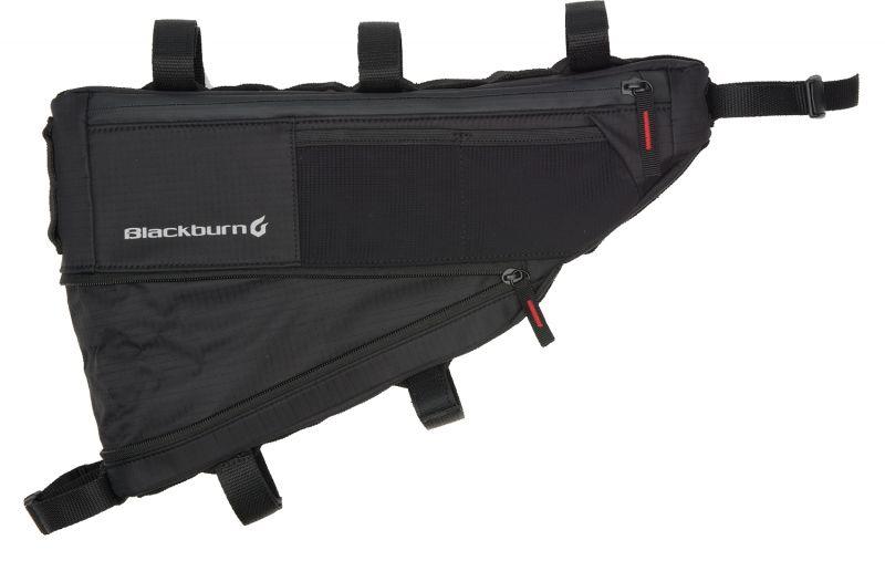 Sacoche de cadre bikepacking Blackburn Outpost M - 4,3/5,8 L Noir - 1