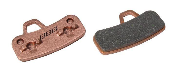 Plaquettes BBB comp. Hayes Stroker Ace métalliques - BBS-493S