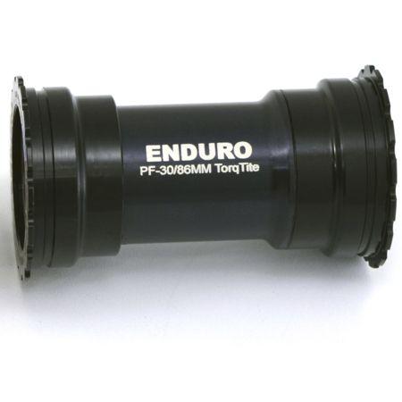 Boitier de pédalier Enduro Bearings TorqTite BKS-0141 A/C SS BB386EVO Axe 24 mm Noir