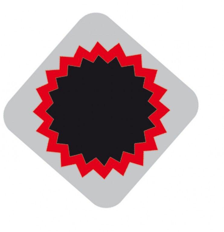 Boîte de 100 rustines Tip Top F1 rondes 25 mm - 1