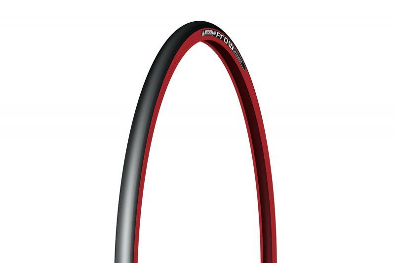 Pneu Michelin Pro 4 Service Course 700 x 23C TS Noir/Rouge