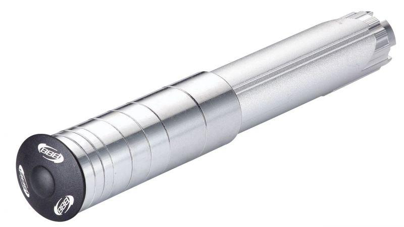 Réhausseur de pivot BBB Extender 28.6 / 25.4 mm Argent/Noir - BHP-21
