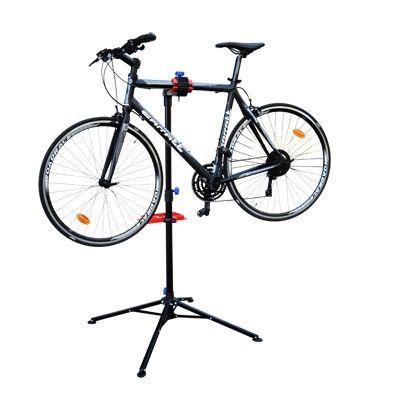 Pied d'atelier vélo pliable avec tablette