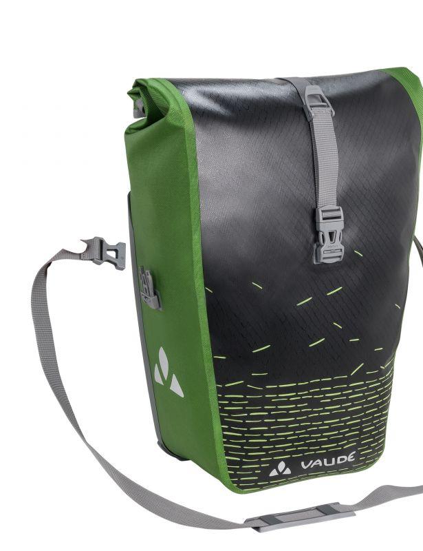 Sacoche porte-bagages Vaude Aqua Back Print Single 24 L Noir/Vert - 3