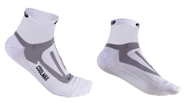 Chaussettes BBB ErgoFeet Coolmax Active (blanc) - BSO-04