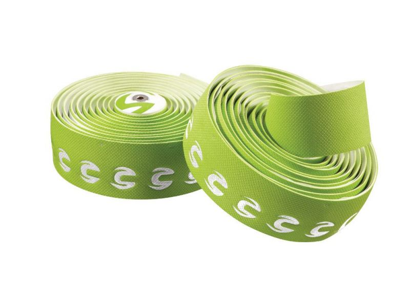 Ruban de cintre Cannondale Pro Grip Gel Vert / Logo Blanc