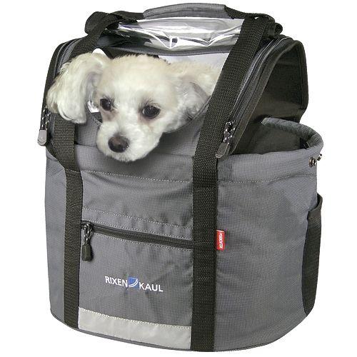 Sacoche de transport pour chien KLICKFix Doggy 24 L Gris - 1