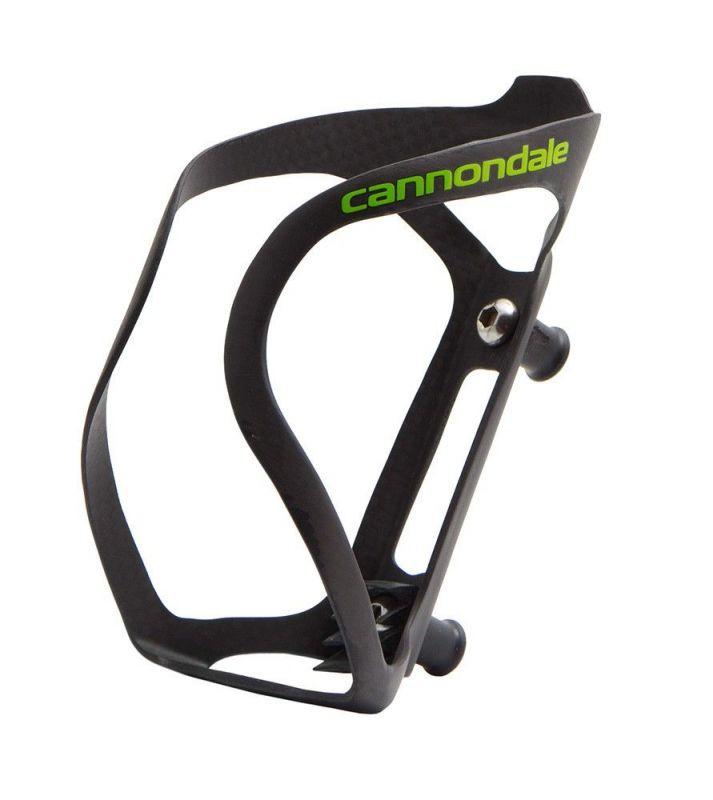 Porte-bidon Cannondale GT-40 Carbon Noir/Vert