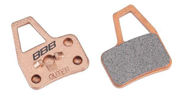 Plaquettes BBB comp. Hayes El Camino métalliques - BBS-49S