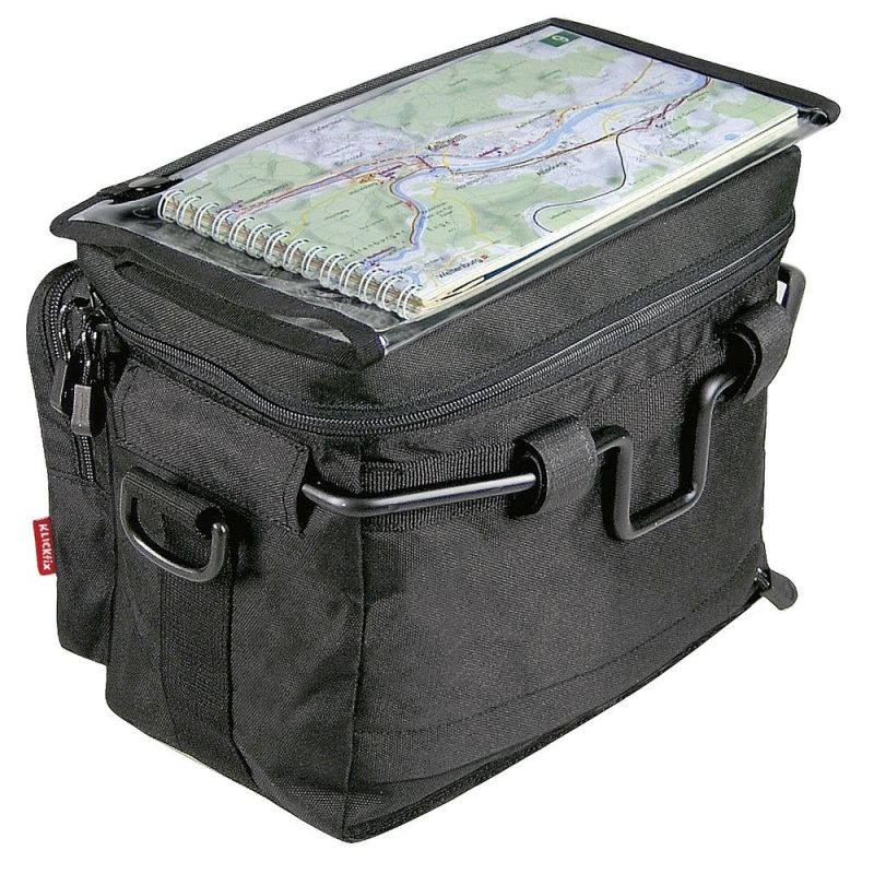 Sacoche avant KLICKfix Daypack 8 L Noir - 4