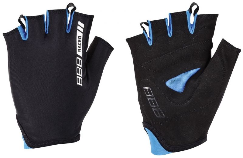 Gants d'été BBB Racer (noir/bleu) - BBW-44