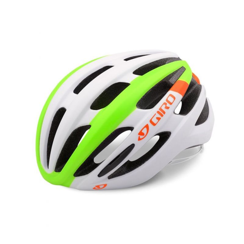 Casque Giro FORAY MIPS blanc mat/vert/orange