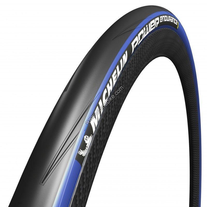 Pneu Michelin Power Endurance 700 x 23C TS Noir/Bleu