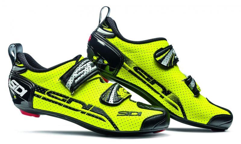 Chaussures Sidi T-4 AIR CARBON jaune fluo/noir