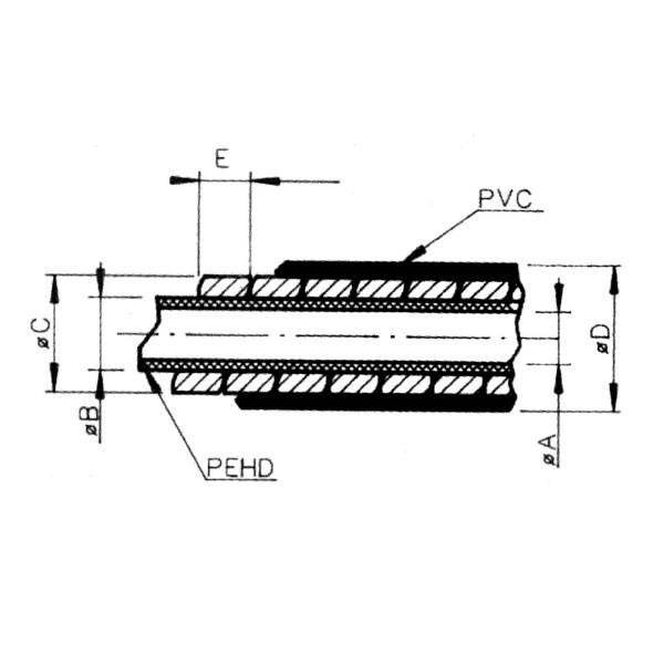 Gaine de frein Saccon 5 mm Noir (Rouleau 50 m) - 1