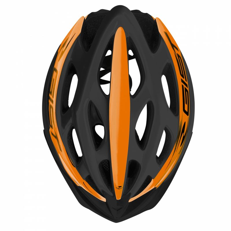 Casque Vélo GIST Faster Noir/Orange