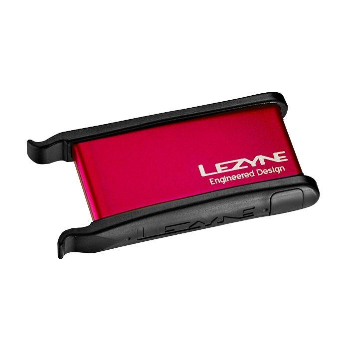Kit de réparation pneus Lezyne Lever Kit Rouge