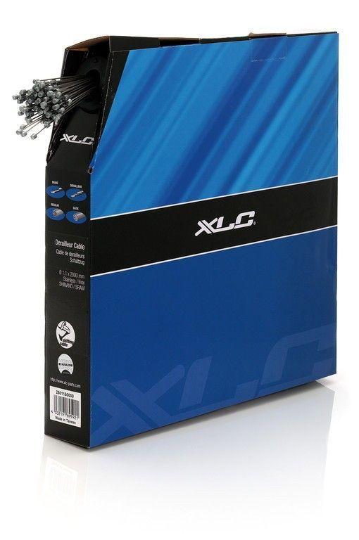 Câble de dérailleur XLC 1,1 x 2000 mm Inox Distributeur 100 unités