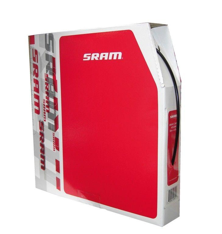 Gaine de frein SRAM Pitstop 5 mm x 30 m Noir