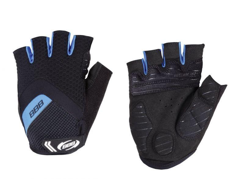 Gants d'été BBB Gel HighComfort Noir/Bleu - BBW-41