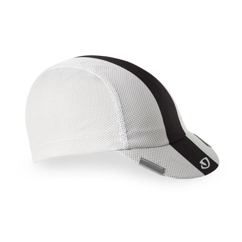 Casquette Giro Peloton Cap Blanc/Noir/Gris