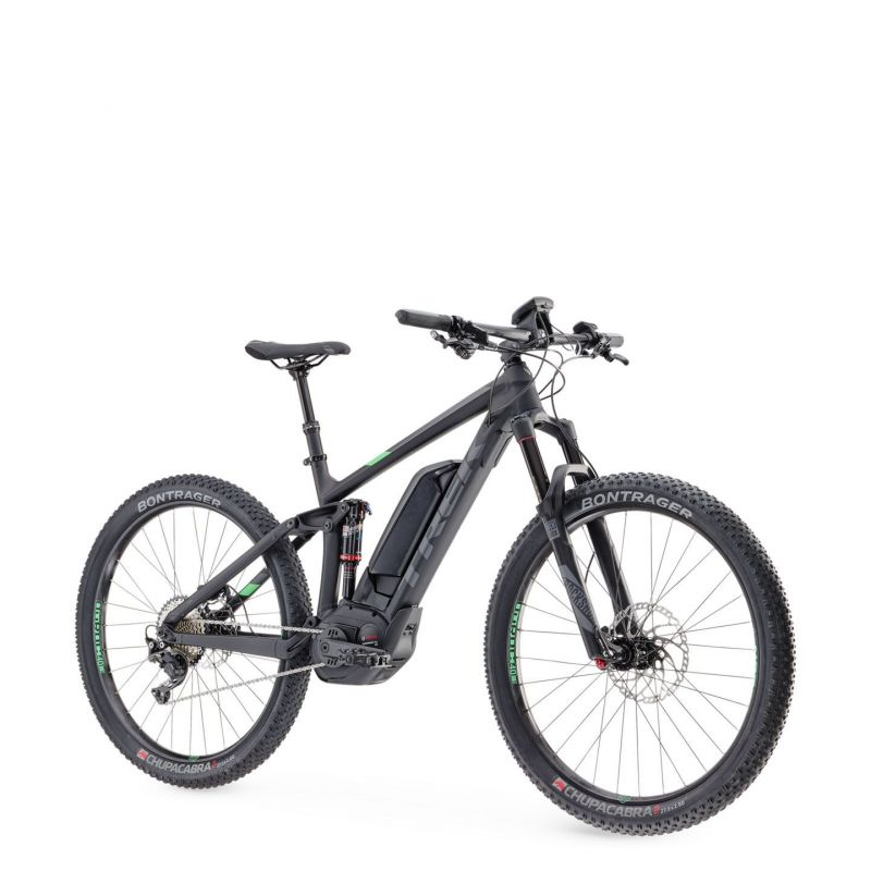 vtt lectrique trek powerfly fs 8 plus 2017 noir vert sur ultime bike. Black Bedroom Furniture Sets. Home Design Ideas