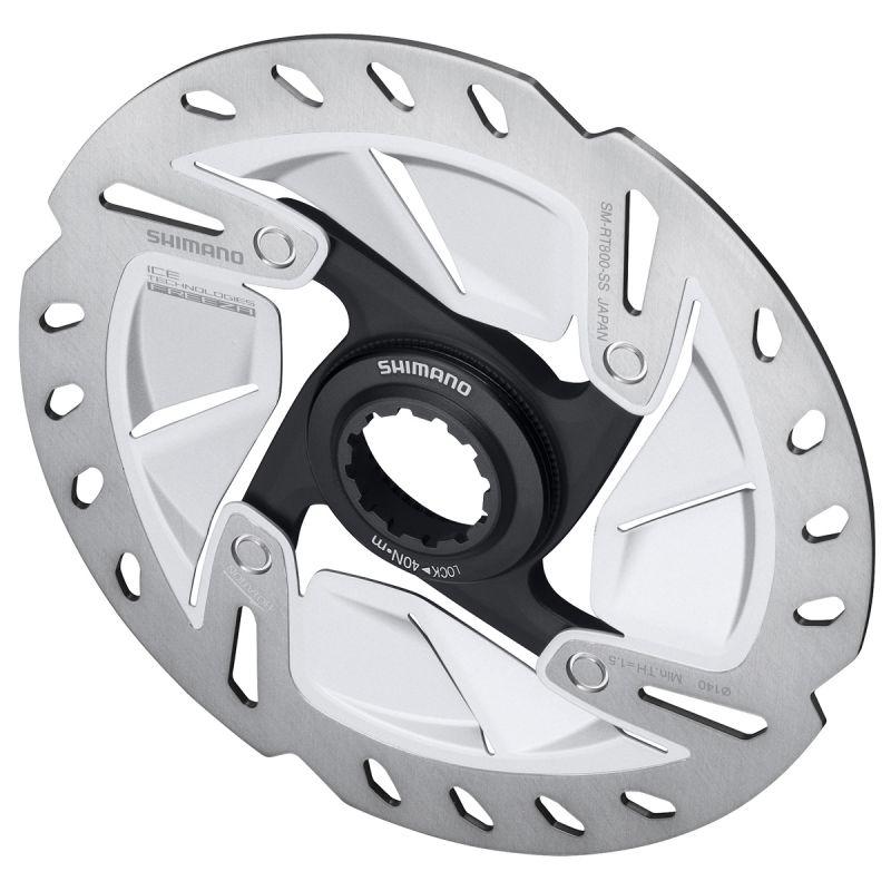 Disque de frein route Shimano SM-RT 800S Ice Tech Freeza 160 mm Centerlock - 1