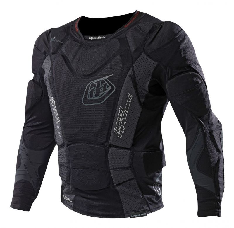 Gilet de protection Troy Lee Designs 7855 Manches longues Noir