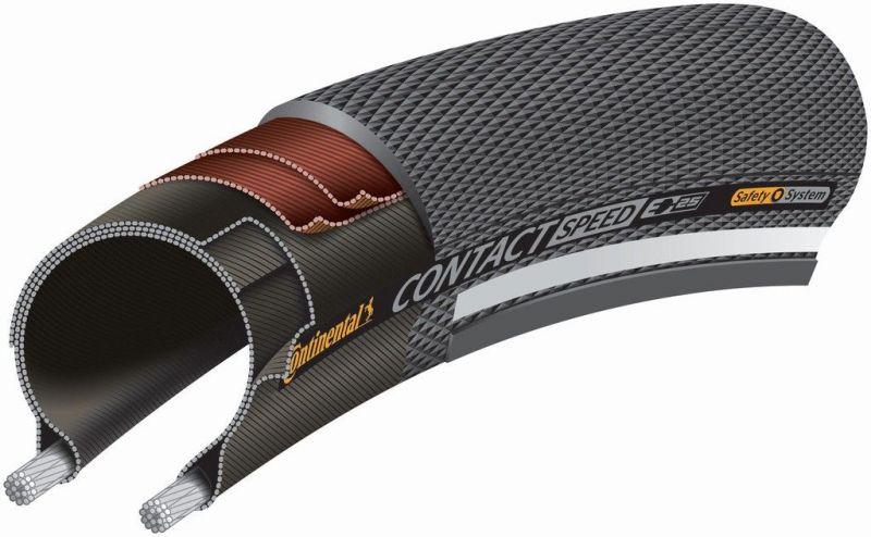 Pneu Continental Contact Speed 700 x 32C Noir