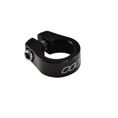 Collier de tige de selle BMX Alu 25,4 mm Noir Alu