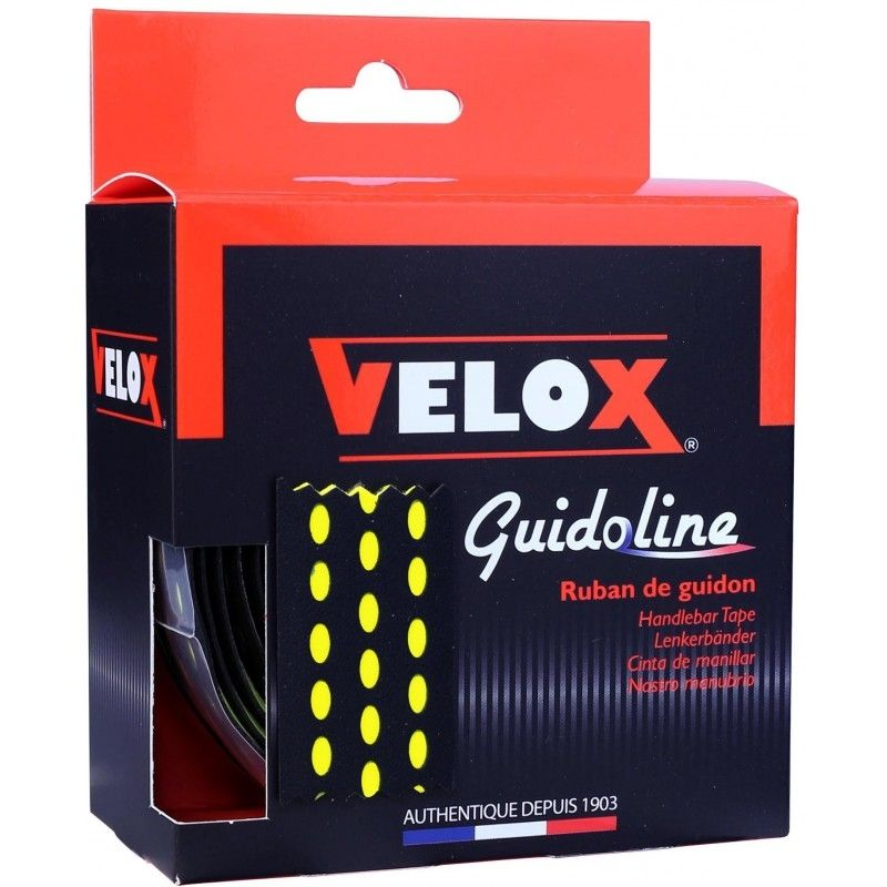 Guidoline VELOX Bi-Color 3.5 Noir/Jaune