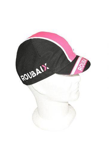 Casquette Equipe Pro Roubaix Lille Métropole Noir/Rose