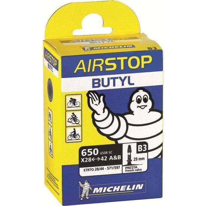 Chambre à air Michelin 650 A/B x 28/47 B3 Presta 29 mm