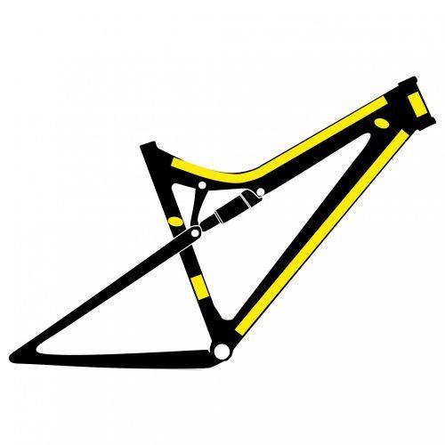 protection adh sive 4 2 kit pour cadre 27 5 29 mat sur ultime bike. Black Bedroom Furniture Sets. Home Design Ideas