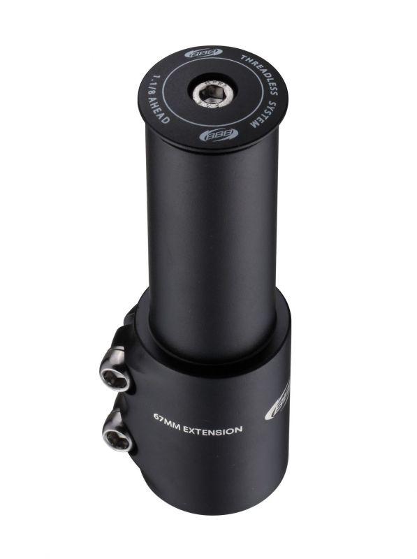 """Expandeur BBB TubeExtend 28.6 mm 1.1/8"""" Noir - BHP-22"""