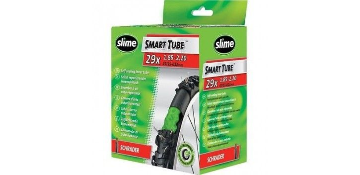 Chambre air anti crevaison slime smart tube 29 x schrader sur ultime bike - Chambre a air 29 anti crevaison ...