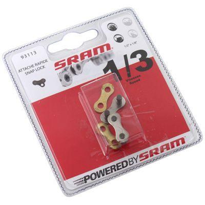 Attache rapide SRAM PC 1 Snap-Lock 1/3V (x2) - 1