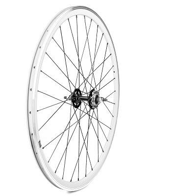roue arri re fixie velox 700c alu moyeu flip flop blanc sur ultime bike. Black Bedroom Furniture Sets. Home Design Ideas