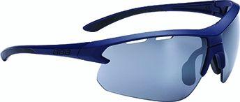 Lunettes BBB Impulse Bleu foncé + Verre PC Smoke Flash Mirror - BSG-52