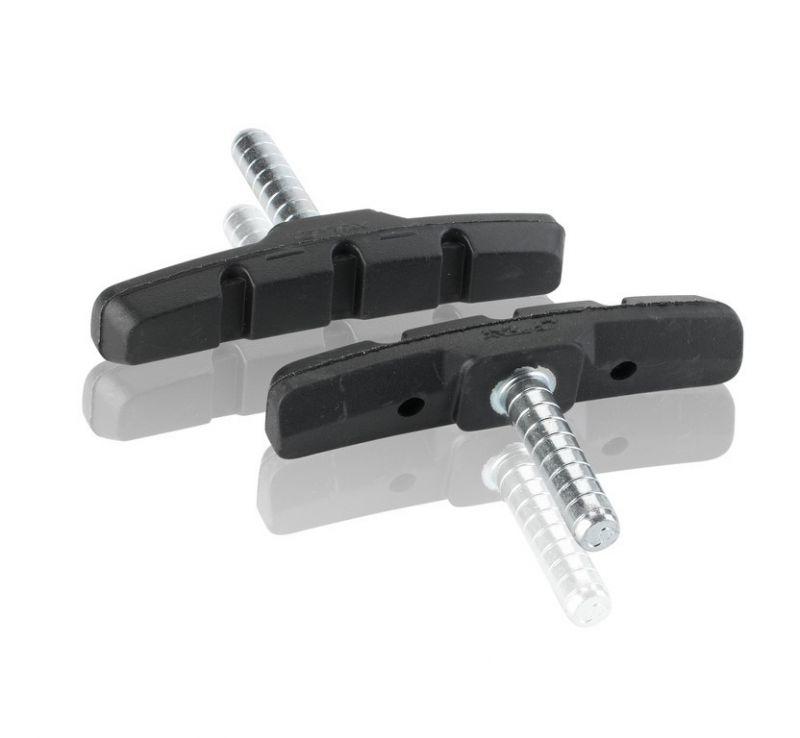 Porte-patins XLC Cantilever BS-C03 à tige 70 mm (x4) Noir